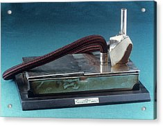 Replica Of Snow Ether Inhaler (1847) Acrylic Print by Science Photo Library