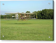 Replica Wright Flyer Acrylic Print by National Park Service/us Department Of Energy