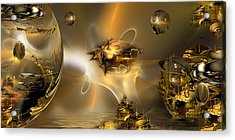 Replication... A Tale Of Reflections Acrylic Print by Phil Sadler