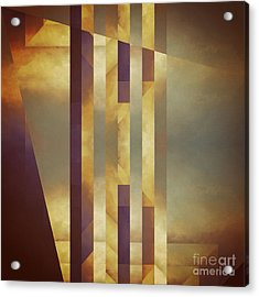 Repressed Altarpiece Acrylic Print by Lonnie Christopher