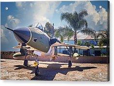 Republic F-105 Thunder Chief Acrylic Print by Steve Benefiel