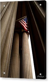 Republic Acrylic Print by Steven Milner