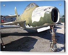 Republic Thunderstreak F-84f Acrylic Print by Gregory Dyer