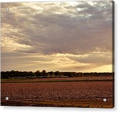 Republican River Valley Acrylic Print by Tracy Salava