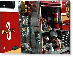 Rescue 3 Acrylic Print by Steven Townsend