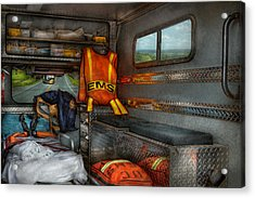 Rescue - Emergency Squad  Acrylic Print