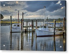 Rescue Fishing Boats Acrylic Print