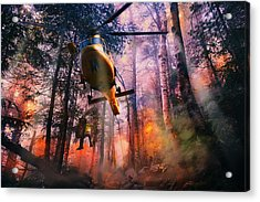 Rescued From Hell Acrylic Print