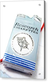 Research Cigarettes Acrylic Print