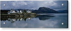 Residential Structure On The Acrylic Print by Panoramic Images