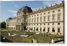 Acrylic Print featuring the photograph Residenz Wurzburg by Christian Zesewitz