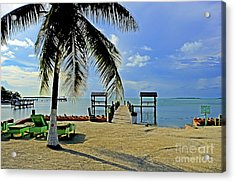 Resort II Acrylic Print by Bruce Bain
