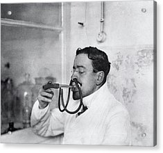 Respiratory Physiology Research Acrylic Print by National Library Of Medicine