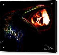 Respite And Nepenthe From Thy Memories Of Lenore - Edgar Allan Poe - Version 2 Acrylic Print