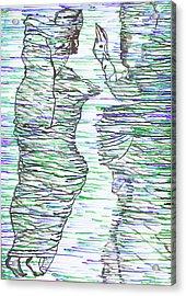 Ressurection Acrylic Print by Gloria Ssali
