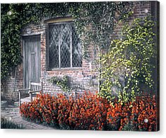 Acrylic Print featuring the painting Rest Awhile by Rosemary Colyer