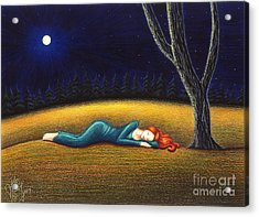 Rest For A Weary Heart Acrylic Print