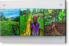 Rest In Peace - Uncle Momoh Acrylic Print
