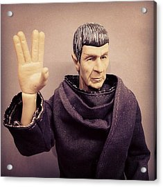 Rest In Peace, #spock... You'll Be Acrylic Print