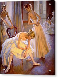 Resting Dancers Acrylic Print