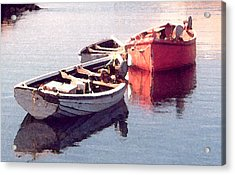 Acrylic Print featuring the photograph Resting by Susan Crossman Buscho