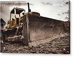 Restore The Shore Acrylic Print by Tom Gari Gallery-Three-Photography