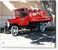 Restored 1922 Mack Truck Acrylic Print