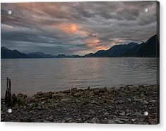 Resurrection Bay Acrylic Print by Darlene Bushue