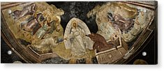 Resurrection Of Adam And Eve Panorama Acrylic Print