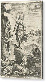 Resurrection Of Christ, Jan Luyken, Jan Claesz Ten Hoorn Acrylic Print by Jan Luyken And Jan Claesz Ten Hoorn