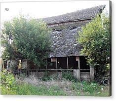 Retired Barn Acrylic Print
