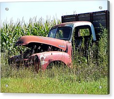 Acrylic Print featuring the photograph Retired by Deb Halloran