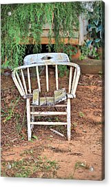 Acrylic Print featuring the photograph Retired by Gordon Elwell