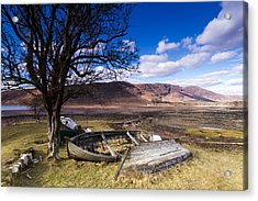 Retired Acrylic Print by Karl Normington