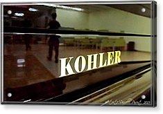 Retired Kohler Piano Acrylic Print by Danielle  Parent