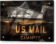 Retired Mail Carrier - Pitcairn P-6 Mailwing 1929 Acrylic Print by Gary Heller