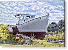 Acrylic Print featuring the photograph Retired by Richard Bean