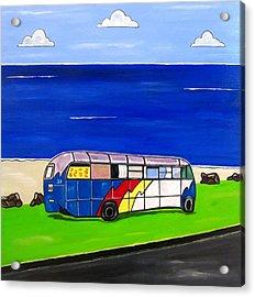 Retired Acrylic Print by Sandra Marie Adams