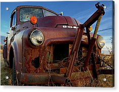 Acrylic Print featuring the photograph Retirement Has Not Been Good by Chuck De La Rosa