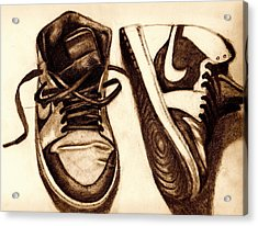 Retro 1 Acrylic Print by Dallas Roquemore