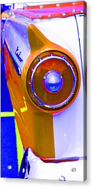 Acrylic Print featuring the photograph Retro Auto Three by Denise Beverly