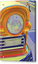 Retro Auto Two Acrylic Print by Denise Beverly