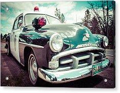 Retro Cop 2 Acrylic Print by Takeshi Okada