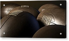 Retro Football Collection  Acrylic Print