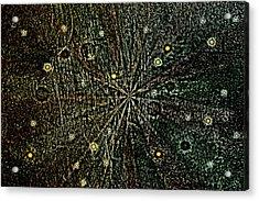 Retro Planets Acrylic Print by Steve Ball