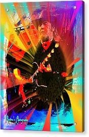 Retro Rocker Acrylic Print by Sadie Reneau