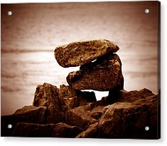 Retro Rocks Acrylic Print