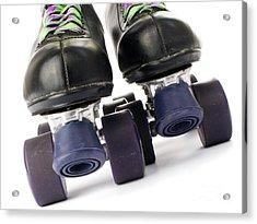 Retro Roller Skates Acrylic Print by Jose Elias - Sofia Pereira