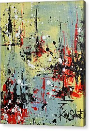 Retroactive Acrylic Print by Kim Sobat