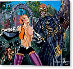 Return Of The Living Dead Acrylic Print by Jose Mendez